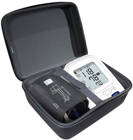 EVA Storage Carrying Case for Omron BP742N 5 Series Upper Arm Blood Pressure Monitor
