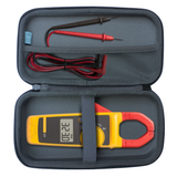 EVA Storage Carrying Case Compatible With Fluke 323/324/325 True RMS Clamp Meter [CASE ONLY]