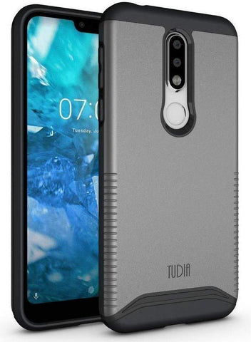 Heavy Duty Dual Layer Merge Case for Nokia 7.1 (2018)
