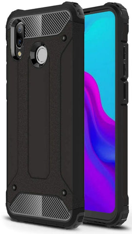Rugged Texture Case for Huawei Y7 2019 (EU Version)