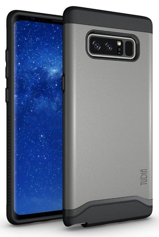 TUDIA Slim-Fit HEAVY DUTY [MERGE] EXTREME Protection / Rugged but Slim Dual Layer Case for Samsung Galaxy Note 8