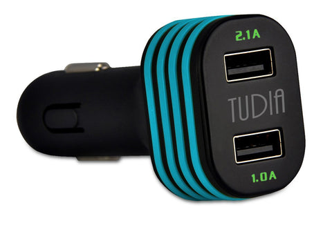 Dual Port USB Ultra High Speed Simultaneous Charging Car Charger