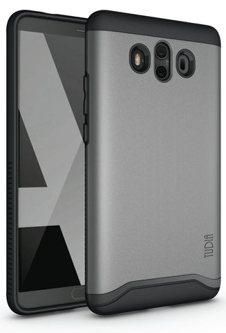 TUDIA Slim-Fit HEAVY DUTY [MERGE] EXTREME Protection / Rugged but Slim Dual Layer Case for Huawei Mate 10