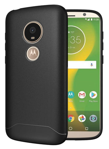TUDIA Full-Matte Lightweight [ARCH S] TPU Bumper Shock Absorption Cover for Motorola Moto E5 Play