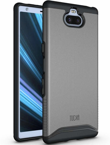 Sony Xperia XA3 Ultra Case, TUDIA [Merge Series] Dual Layer Heavy Duty Extreme Drop Protection/Rugged Phone Case for Sony Xperia XA3 Ultra [NOT Compatible with Xperia XA3]
