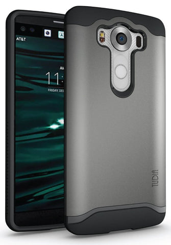 TUDIA Slim-Fit MERGE Dual Layer Protective Case for LG V10