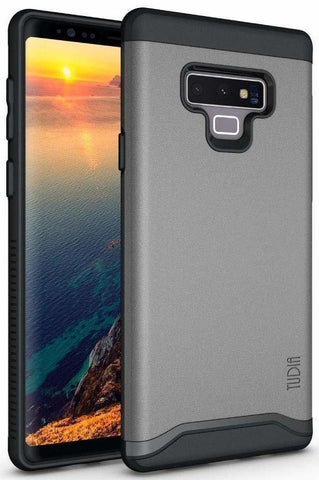 TUDIA [Merge Series] Heavy Duty Extreme Protection/Rugged Dual Layer Slim Precise Cutouts Phone Case Samsung Galaxy Note 9 (2018)