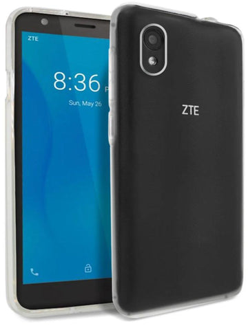 Ultra Thin Clear TPU Case for ZTE Quest 5
