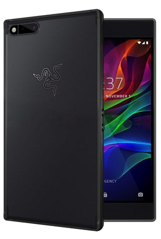 TUDIA Scratch Resistant LUCION Lightweight Hybrid Matte Back Panel Protective Cover for the Razer Phone (2017 Version)