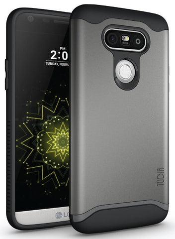 TUDIA Slim-Fit MERGE Dual Layer Protective Case for LG G5