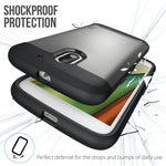 TUDIA Slim-Fit HEAVY DUTY [MERGE] EXTREME Protection / Rugged but Slim Dual Layer Case for Motorola Moto E (3rd Generation)