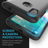 Heavy Duty Dual Layer MERGE Case for ZTE Blade 10 Prime