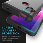 Heavy Duty Dual Layer Merge Case for Motorola One Hyper