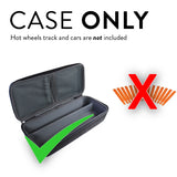 EVA Storage Carrying Case for Hot Wheels Track and Cars
