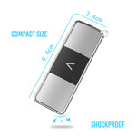 Ultra Slim Lightweight Protection Case for AliveCor Kardia Mobile 6L Heart Monitor