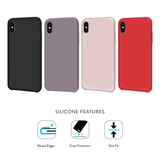 Apple iPhone Xs Max Smooth Silicone Case & Charging Combo Pack
