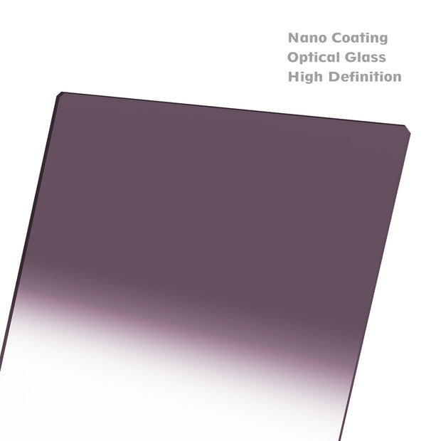 NiSi 180x210mm Nano IR Hard Graduated Neutral Density Filter - ND8 (0.9) - 3 Stop