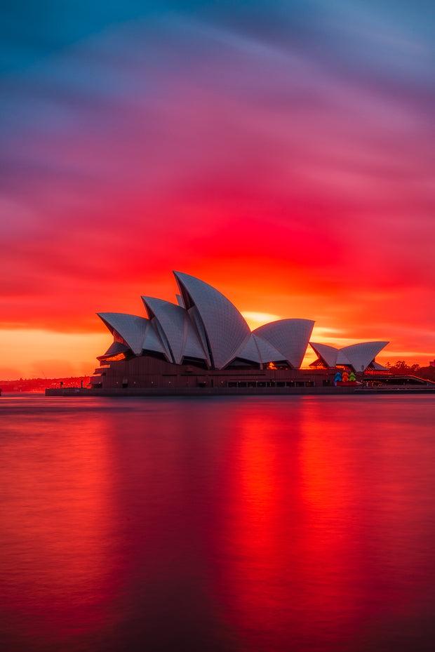 Australia Opera House epic sunrise