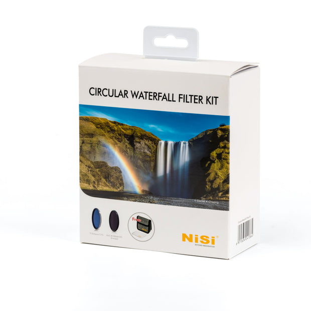 NiSi 72mm Circular Waterfall Filter Kit
