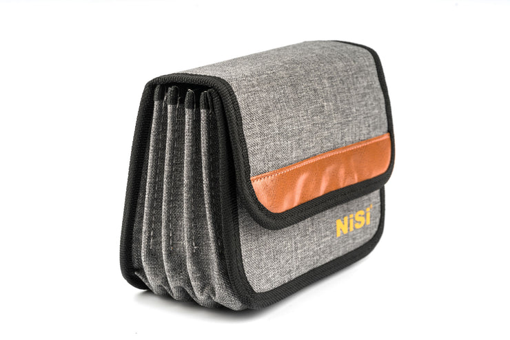 NiSi 100mm Filter Pouch PLUS for 9 Filters (Holds 4 x 100x100mm and 5 x 100x150mm)