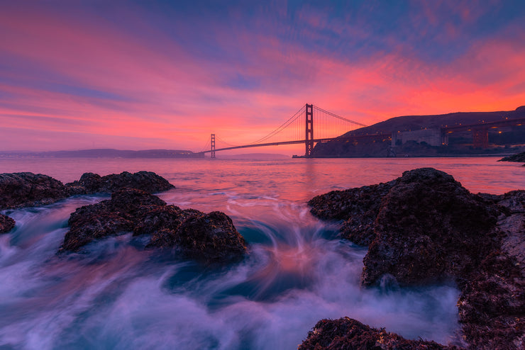Golden Gate Sunset Photo
