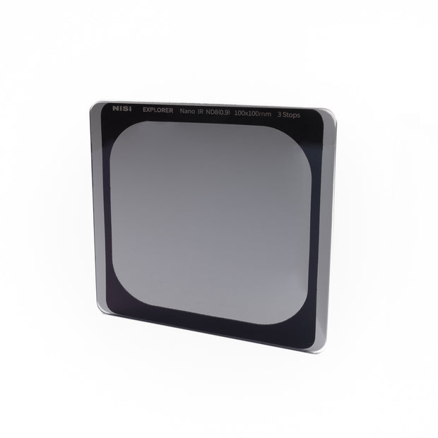 NiSi Explorer Collection 100x100mm Nano IR Neutral Density filter - ND8 (0.9) - 3 Stop