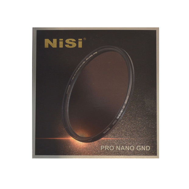 NiSi 77mm Nano Coating Graduated Neutral Density Filter GND16