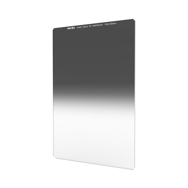NiSi 100x150mm Nano IR Hard Graduated Neutral Density Filter - GND4 (0.6) - 2 Stop