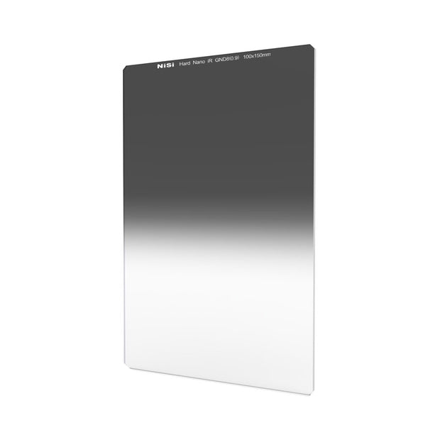 NiSi 100x150mm Nano IR Hard Graduated Neutral Density Filter - GND8 (0.9) - 3 Stop