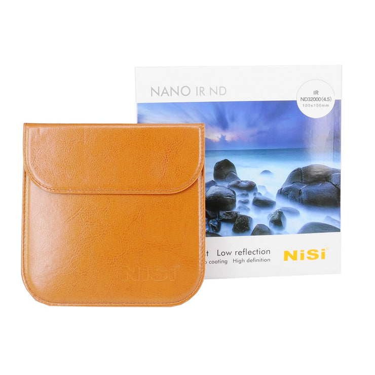 NiSi 100x100mm Nano IR Neutral Density filter - ND32000 (4.5) - 15 Stop Super Stopper