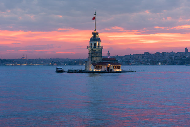Maiden Tower Istanbul Sunset