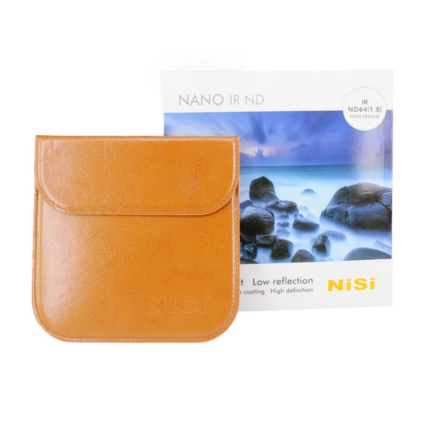 NiSi 100x100mm Nano IR Neutral Density filter - ND64 (1.8) - 6 Stop