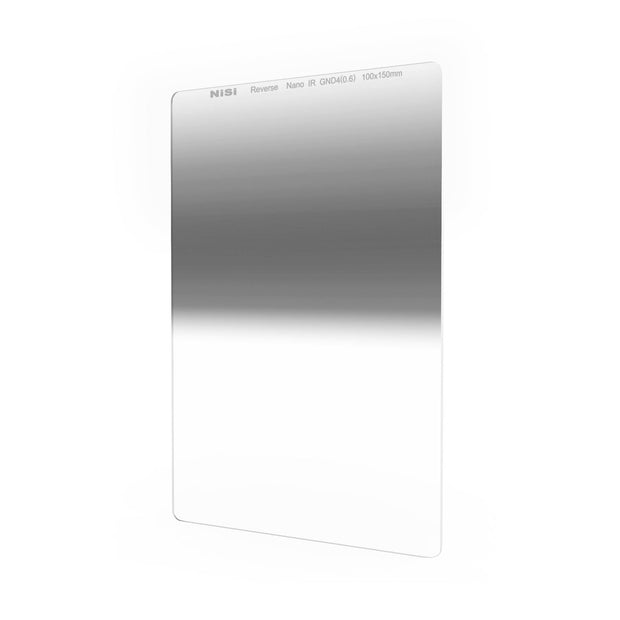 NiSi 100x150mm Reverse Nano IR Graduated Neutral Density Filter - ND2 (0.6) - 2 Stop