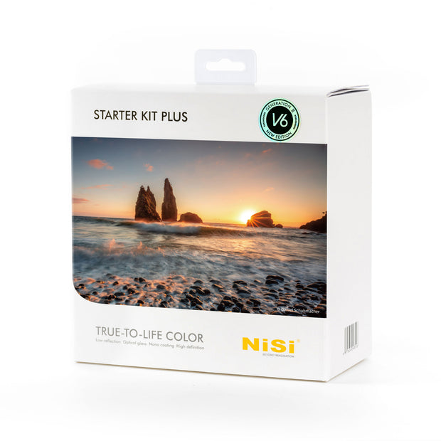 NiSi 100mm Starter Kit Plus Third Generation III with V6 with Landscape CPL