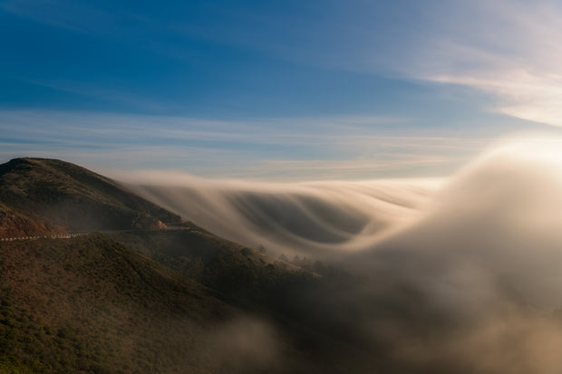 Marin headlands Fog wave