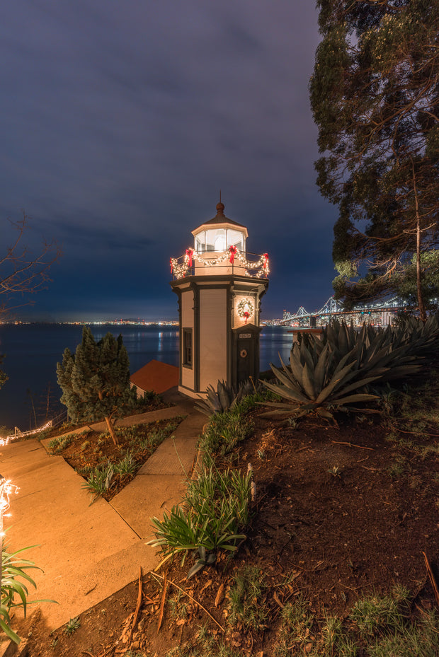 San Francisco bay area hidding lighthouse