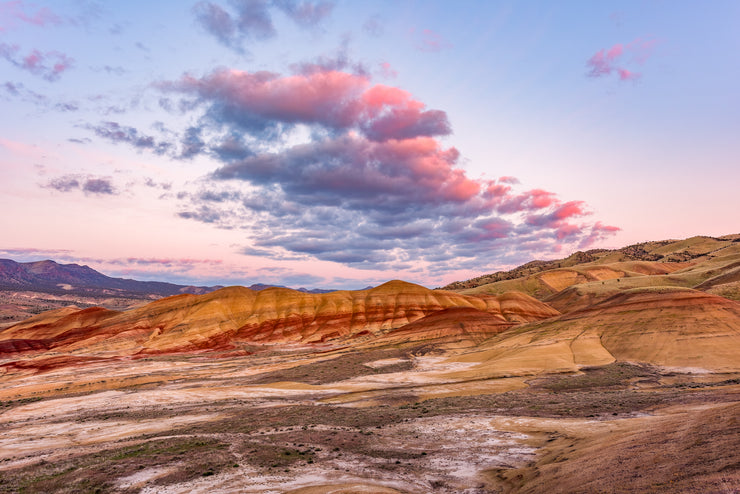 Painted Hills Sunset Oregon