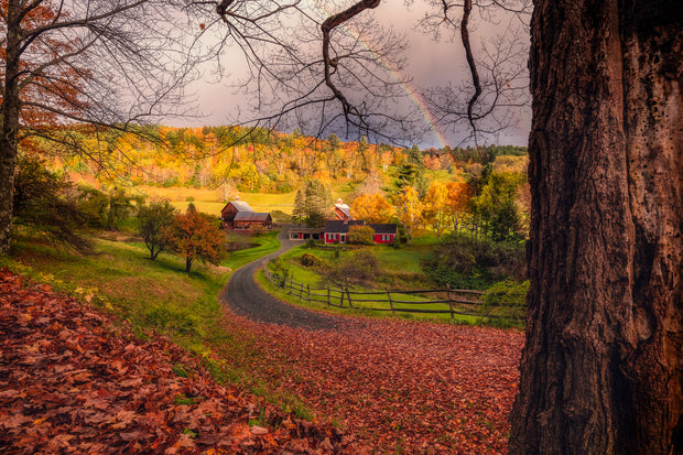 Vermont sleepy Hollow Rainbow
