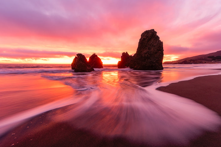 Epic sunset rodeo Beach Version 2