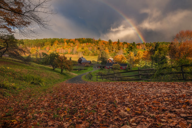 Sleepy Hollow Vermont rainbow