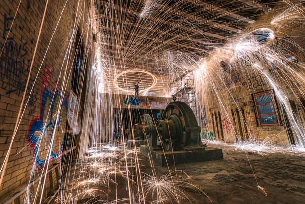 Yonkers New York Halloween night steel wool