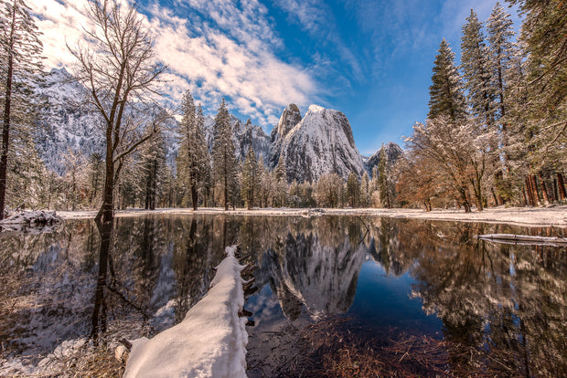 Yosemite winter reflections