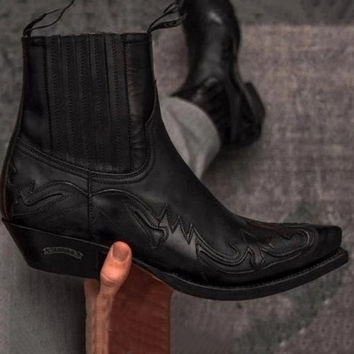 Carved Wild Custom Men's Ankle Moots