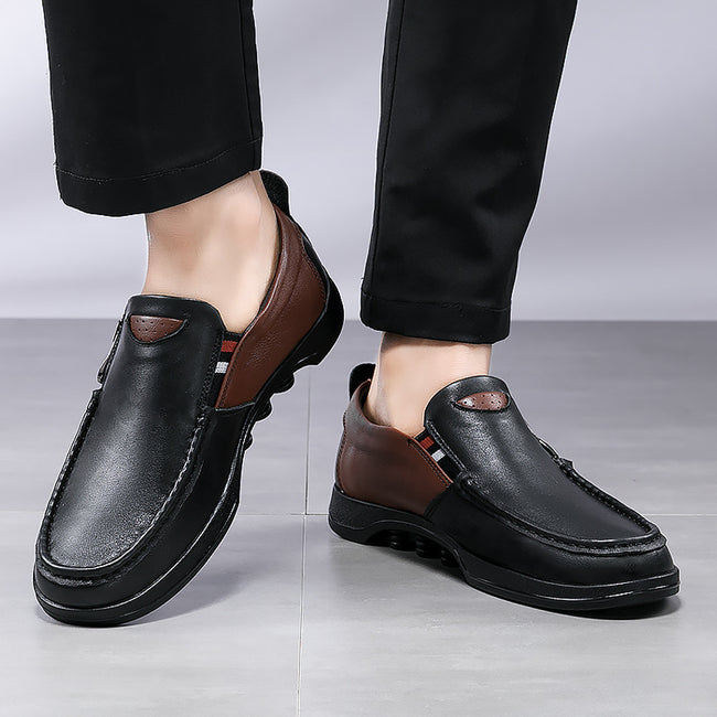Men's Genuine Leather Shoes Loafers