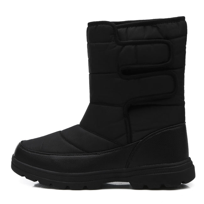 Fashion Men's Leather Slip On Boots