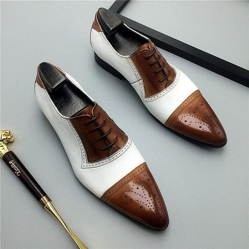 Breathable Oxford Men's Dress Shoes