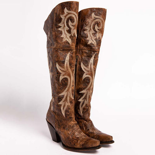 Women's Jilted Knee High Western Boots