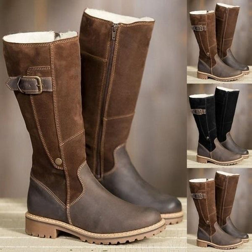 Boots - Ladies Warm Waterproof High Martin Boots