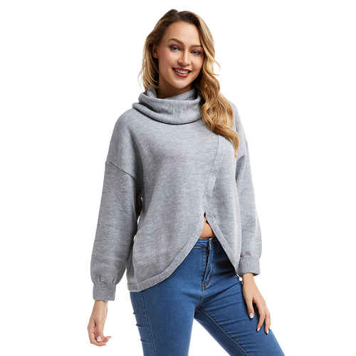 Personalized Knitted Turtleneck Warm Sweater