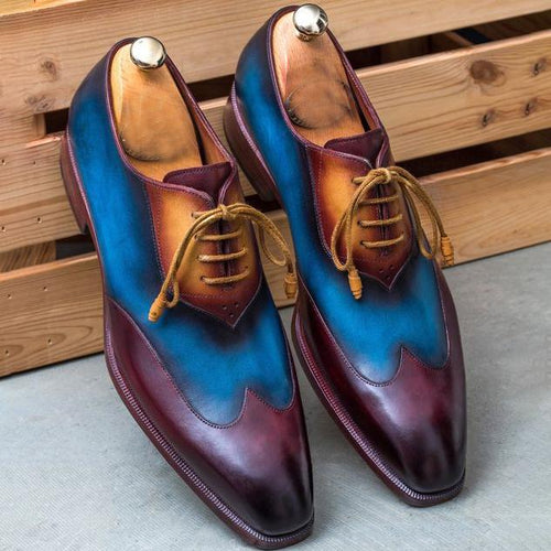 Luxury Brand Oxfords Leather Dress Shoes